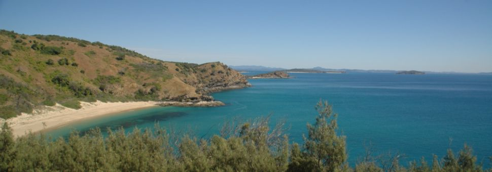 Walking tracks abound to beautiful beaches on Great Keppel Island