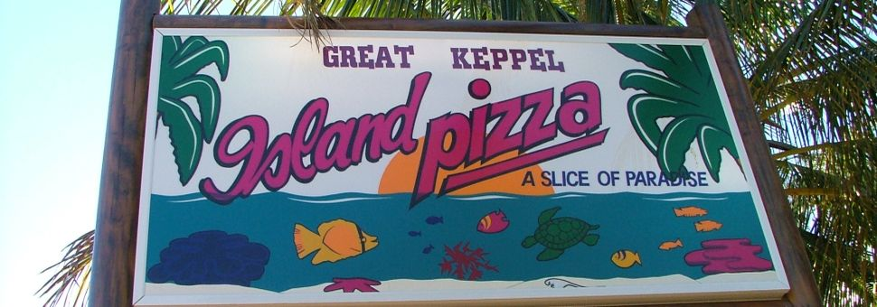 Island Pizza on Great Keppel Island