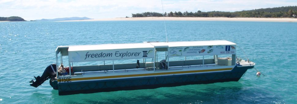 Freedom Explorer II - glass-bottomed boat tours